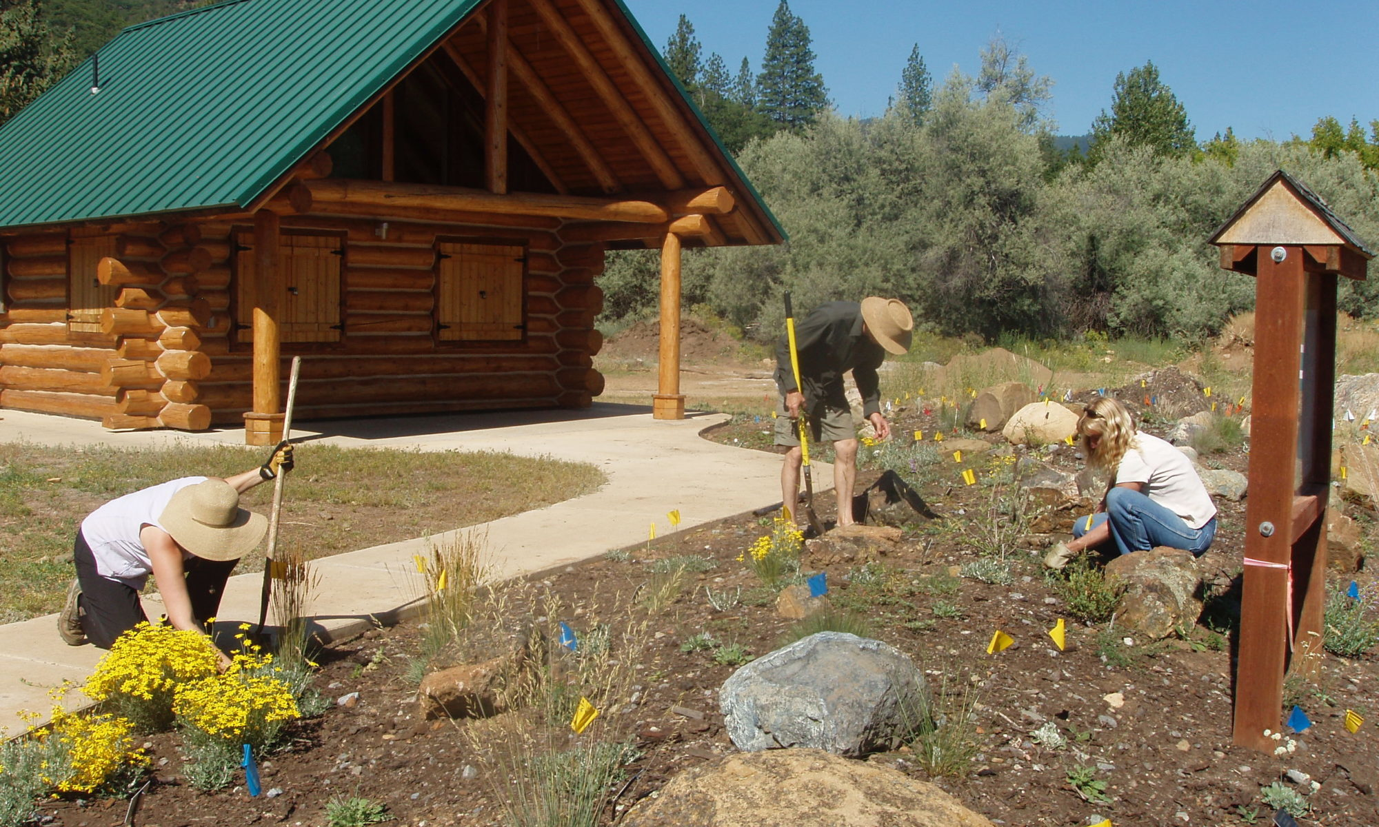 Siskiyou Gardens, Parks and Greenways Association